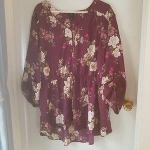 Adorable floral blouse